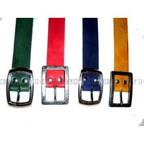 Cinturones De Colores 100% Cuero Jeans710