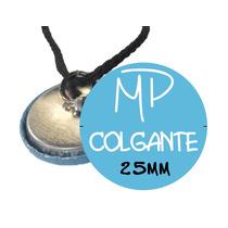 Pin Colgante Collar Souvenirs Personalizado 25mm Soguín X10