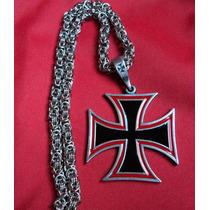 Cruz Cruces Malta Pate Con Cadena