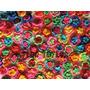 Pack X 30 Flores Dobles Tejidas Al Crochet Aplique Souvenir
