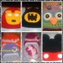 Gorros En Crochet (kitty,minion,minnie,monster Ink,y Mas)