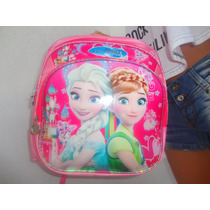 Mochila Espalda Jardin Princesas Frozen ..!!