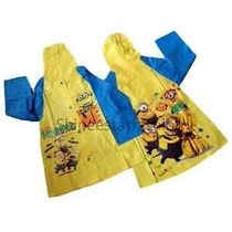 Piloto Impermeable Minions Hombre Araña Monster High Spider