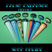 Falso Expansores,piercing,$25c/u,acero Quirurgico