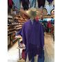 Ruanas De Lana Argentina Mujer Dama Colores Tejido Grueso