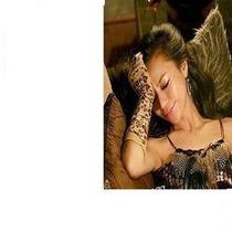 Mitones - Guantes Motivo Leopardo De Abrigo