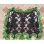 Poncho Tejido Crochet Otoño Invierno Delicado Elegante