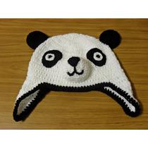 Gorritos Panda Crochet