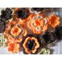 12 Flores Tejidas Al Crochet Las Mas Lindas!