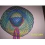 Sombrero Capelina Rafia Multicolor