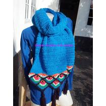 Bufandas A Crochet - Tejidos Artesanales