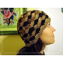 Gorro Crochet - Dama