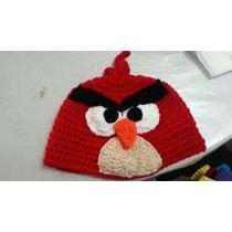 Gorros Lana Tejidos Al Crochet - Angry Birds - Cars