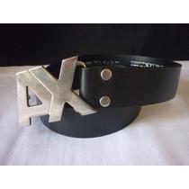Cinturon Modelo Ax Usado Una Vez Cuero Legitimo Super Oferta