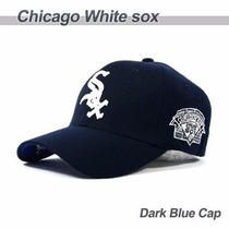 Gorras Baseball Cerradas Chicago White Sox Flexfit Mlb
