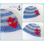 Gorro Tejido Crochet Color Y Talle A Elección!
