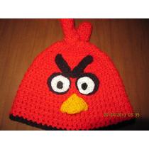 Gorros Angry Birds Tejidos A Mano
