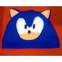Gorro De Polar Sonic The Hedgehog Videojuego Novedad 2016