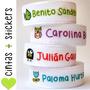 Cintas Personalizadas Con Nombre + Stickers Gratis ! Promo