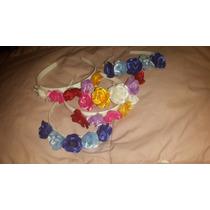Vincha Flores De Raso