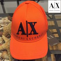 Gorra Armani Orange Baseball / Bajo Pedido_exkarg
