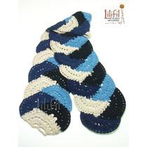 Bufandas Tejidas Al Crochet