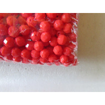 690 Cuentas Facetadas En Color Coral 8 Mm Para Armar
