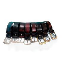 Cinturones En Cuero100% , Eliges Hebillas, Medida Y Color