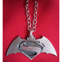 Colgante Collar Superman Batman Dawn Of Justice