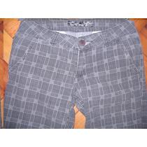 Pantalon Corte Jean T36 Recto Muy Lindo