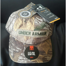 Gorra Under Armour Importada De Usa, Camo Bosque Talle L/xl