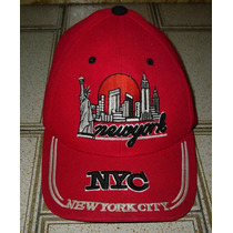 Gorra / Cap Ajustable New York City, Made In Vietnam