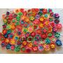 Pack X 50 Flores Dobles Tejidas Al Crochet Aplique Souvenir