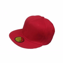 Gorra Visera Plana Hip Hop Varios Colores- Ponele Tu Logo!