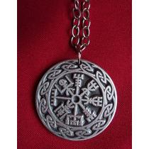 Colgante Collar Vegvisir Vikingo