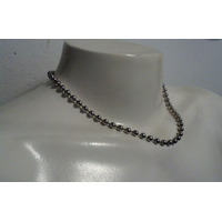Collar Cadena Colgante Metal Rock Corto Al Cuello Pulsera