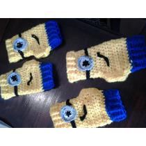 Mitones Minion Crochet