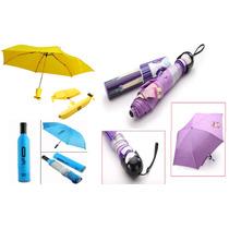 Paraguas Plegable Botella Banana Muñeca Japonesa Impermeable
