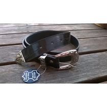 Cinturón 100% Cuero, 4t Accesorios, Fábrica De Cintos Y Más!