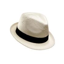 Sombrero Gardelito Imitación Panamá Unisex Las Penelope