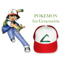 Gorra Pokemon 1ra Generación Importada Ajustable Bordada