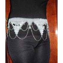 Danza Arabe Caderín Cinturon Metalico Aluminio