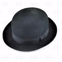 Sombrero Bombín Unisex De Fieltro Lana 100% Bowler Hat