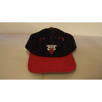 Gorra Chicago Bulls Twins Licencia Oficial Nba -negro Y Rojo