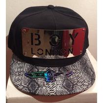 Visera Plana Snapback Boy London