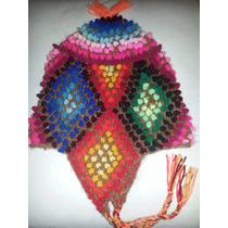 Gorro Coya - Muy Colorido! Accesorio Ideal Para El Invierno