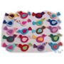 A Pedido Pack X 10 Pajaritos Tejidos Al Crochet