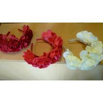 Vinchas Flores Arficiciales