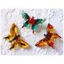 Prendedores Pin Moda Importados Mariposas Flor Planetas