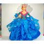 Vestido Barbie Princesa De La Isla